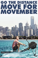Go the distance, move for movember